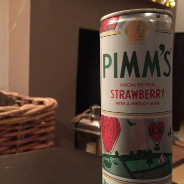 Mums like Pimms not tea….